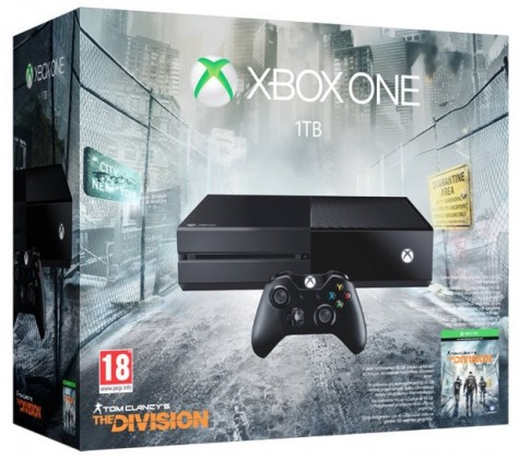 Microsoft Xbox One 1TB + Tom Clancy's The Division