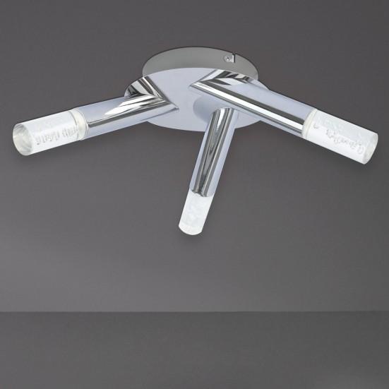 Midu - Kúpeľňové svietidlo, LED (chróm)