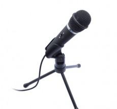 Mikrofón Connect IT CI-481 REC, čierny