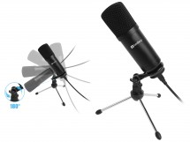 Mikrofón Sandberg Streamer 126-09