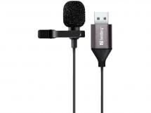 Mikrofón Sandberg Streamer Clip 126-19