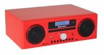 Mikrosystém Roadstar HRA-9 D+BT červený