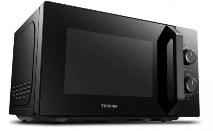 Mikrovlnná rúra Mikrovlnná rúra s grilem Toshiba MW-MG20P čierna, 800/1000W
