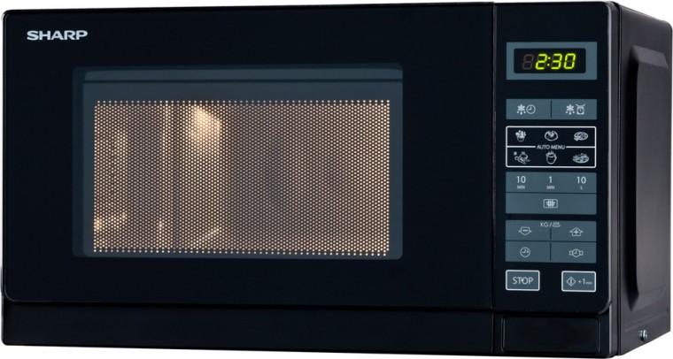 Mikrovlnná rúra  Sharp R-242(BK)E