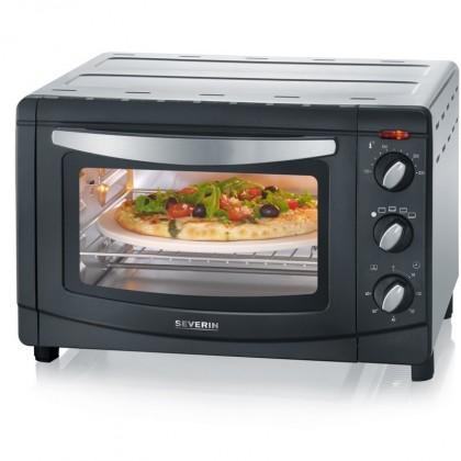 Mikrovlnné rúry ZLACNENÉ Severin TO 2061 Mini rúra - horúci vzduch, grill a pizza kameňWhi