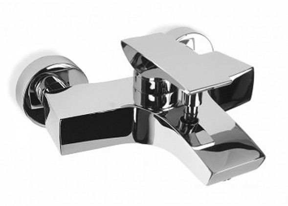 Mini - Vanová batérie nástenná bez sprchového kompletu (chrom)