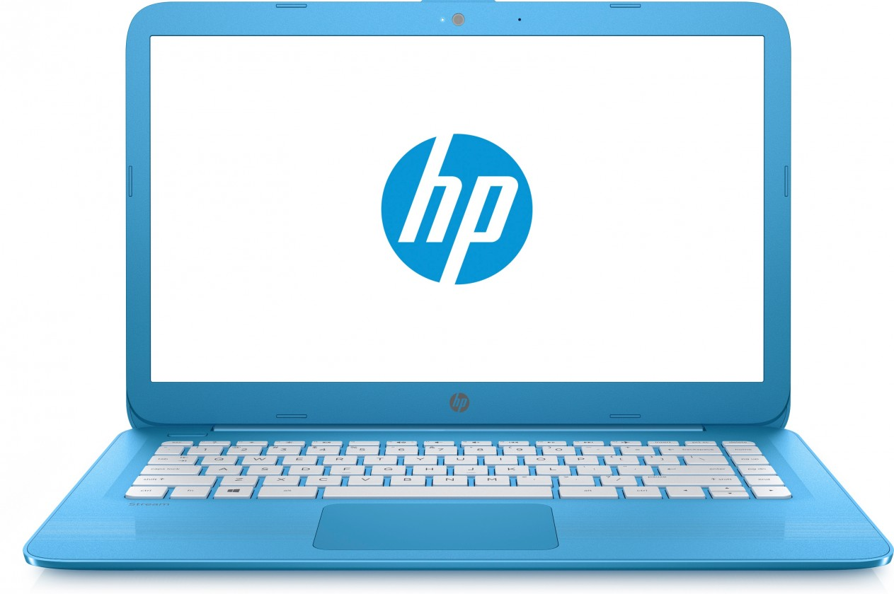 Mininotebooky HP Stream 14-ax001 X9W71EA, modrá