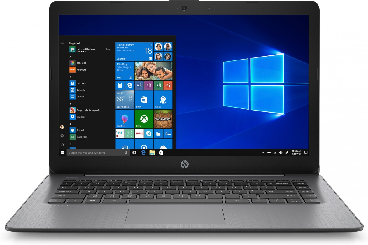 "Mininotebooky Notebook HP 14-ds0005nc 14"" AMD A4 4GB, 64GB, Black"