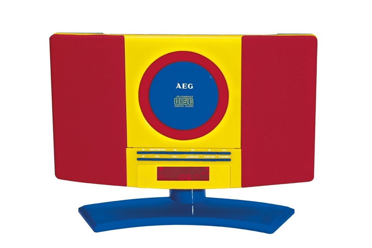 Minisystém, Mikrosystém AEG MC 4464 CD/MP3