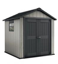 Minotaur - záhradný dom (229x223 cm, sivá/antracit)