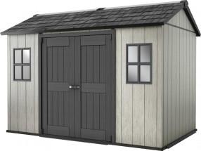Minotaur - záhradný dom (350x229 cm, sivá/antracit)