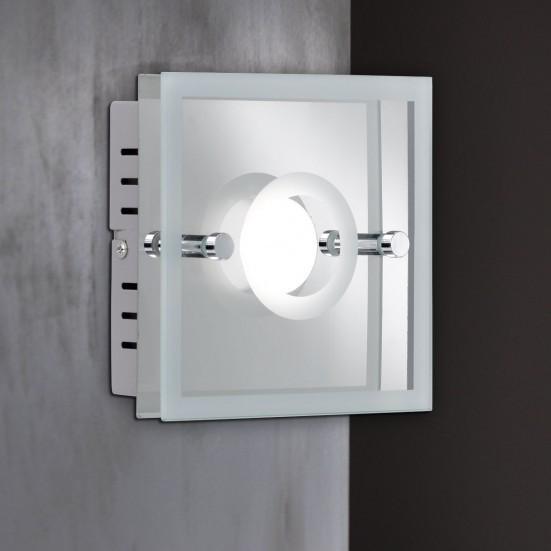 Mira - Nástenné svietidlo, LED (chróm)