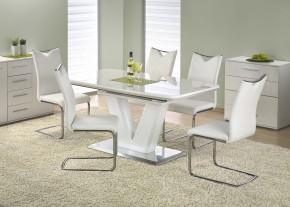 Mistral - Jedálenský stôl 160 - 220x90 cm (biely lak)