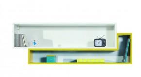 MOBI MO 14 (biela lesk/žltá)