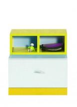 MOBI MO 17 (biela lesk/žltá)