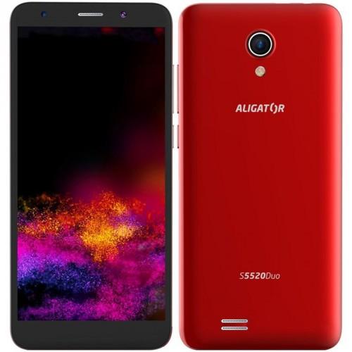 Mobilný telefón ALIGATOR S5520 Duo 1GB/16GB, červený