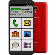 Mobilný telefón ALIGATOR S5520 SENIOR 1GB/16GB, červený POUŽITÉ,