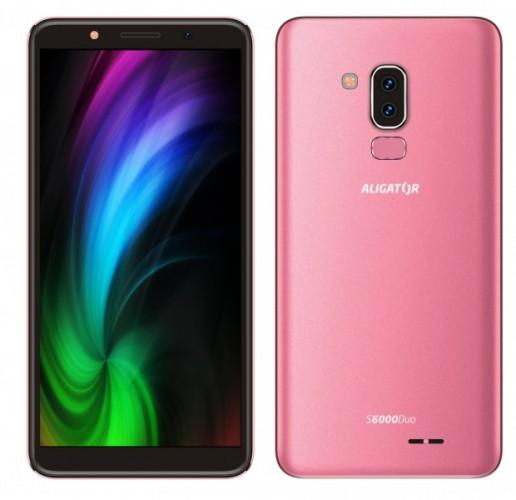 Mobilný telefón Aligator S6000 1 GB/16 GB, modrý