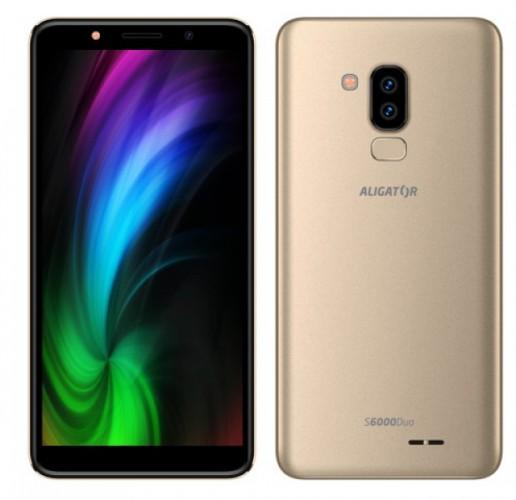 Mobilný telefón Aligator S6000 1 GB/16 GB, zlatý