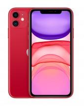 Mobilný telefón Apple iPhone 11 64GB, červená