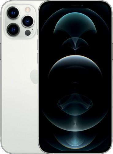 Mobilný telefón Apple iPhone 12 Pro Max 256GB, strieborná