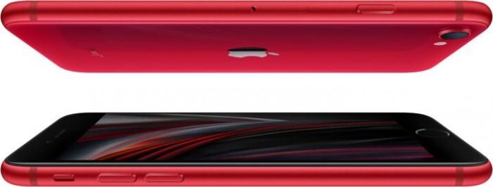 iPhone SE červený