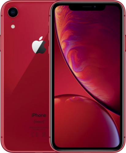 Mobilný telefón Apple iPhone XR 64GB, červená