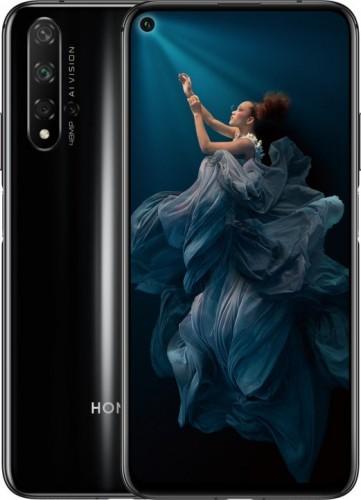 Mobilný telefón Honor 20 6GB/128GB, čierna + DÁREK Antivir ESET na 1rok v hodnotě 299Kč