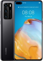 Mobilný telefón Huawei P40 8GB/128GB Black POUŽITÉ, NEOPOTREBOVAN