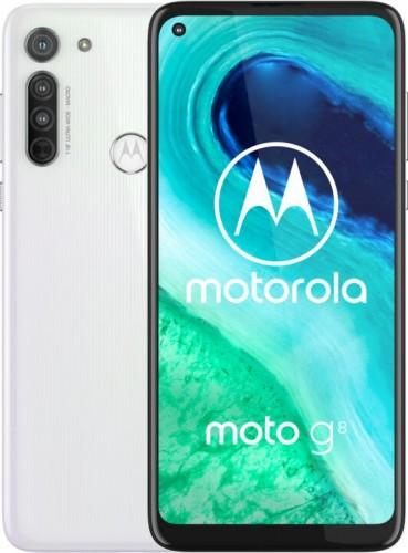 Mobilný telefón Motorola G8 4GB/64GB, biela