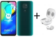 Mobilný telefón Motorola G9 Play 4GB/64GB, zelená + MotoBuds