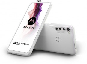 Mobilný telefón Motorola One Fusion + 6GB/128GB, biela