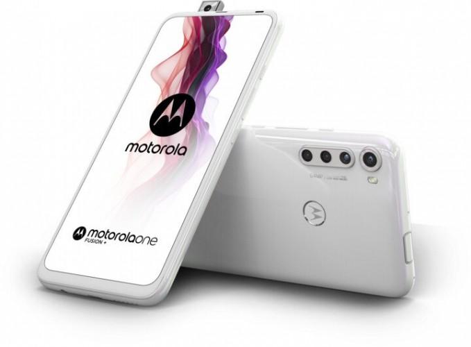 Mobilný telefón Motorola One Fusion + 6GB/128GB, biela + DÁREK Antivir Bitdefender pro Android v hodnotě 299 Kč