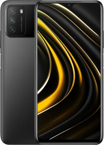 Mobilný telefón Poco M3 4GB/64GB, čierna MIERNA VADA VZHĽADU, ODR