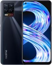 Mobilný telefón Realme 8 4 GB/64 GB, lesklý čierny