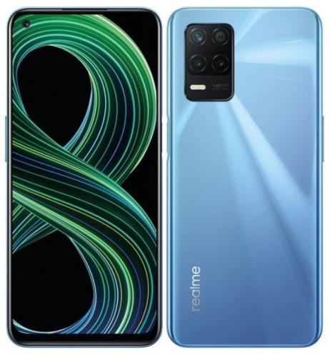 Mobilný telefón Realme 8 5G 6 GB/128 GB, modrý