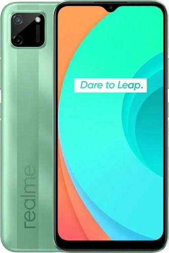 Mobilný telefón Realme C11 3GB/32GB, zelená + DÁREK Antivir Bitdefender pro Android v hodnotě 299 Kč