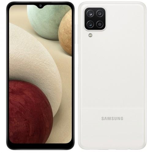 Mobilný telefón Samsung Galaxy A12 3 GB/32 GB, biely