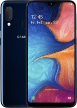 Mobilný telefón Samsung Galaxy A20e 3GB/32GB, modrá