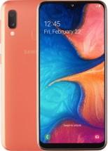 Mobilný telefón Samsung Galaxy A20e 3GB/32GB, oranžová + Powerbank Swissten 6000mAh