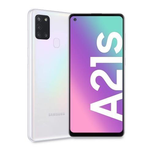 Mobilný telefón Samsung Galaxy A21s 3GB/32GB, biela