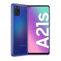 Mobilný telefón Samsung Galaxy A21s 3GB/32GB, modrá + DARČEK Antivir Bitdefender pre Android v hodnote 11,90 Eur