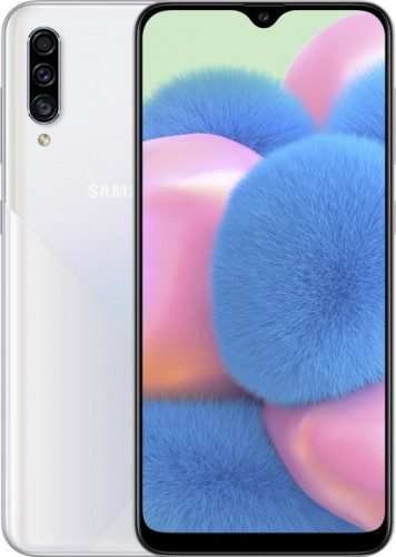 Mobilný telefón Samsung Galaxy A30S 4GB/64GB, biela