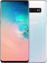 Mobilný telefón Samsung Galaxy S10 8GB/128GB, biela + Antivir ESET  + Bezdrôtové slúchadlá AKG v hodnote 159€