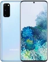 Mobilný telefón Samsung Galaxy S20, 8GB/128GB, modrá + Mobilný telefón Samsung Galaxy A20e
