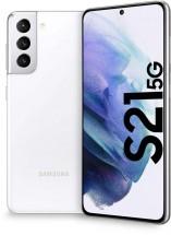 Mobilný telefón Samsung Galaxy S21, 8 GB/128 GB, biely