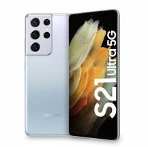 Mobilný telefón Samsung Galaxy S21 Ultra, 12GB/128GB, strieborná + Galaxy Buds Live