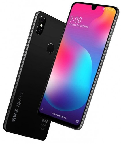 Mobilný telefón Vivax Fly 5 Lite 3GB/32GB, čierna + DÁREK Antivir Bitdefender pro Android v hodnotě 299 Kč