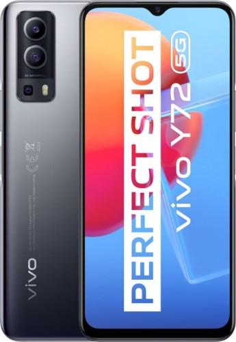 Mobilný telefón Vivo Y72 5G 8 GB/128 GB, čierny