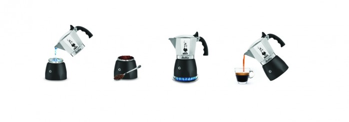 Príprava kávy v koťogu